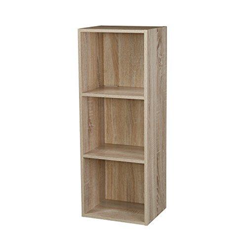 Buy 1 2 3 4 Tier Wooden Bookcase Shelving Display