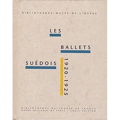 Les ballets suédois de 1920 à 1925