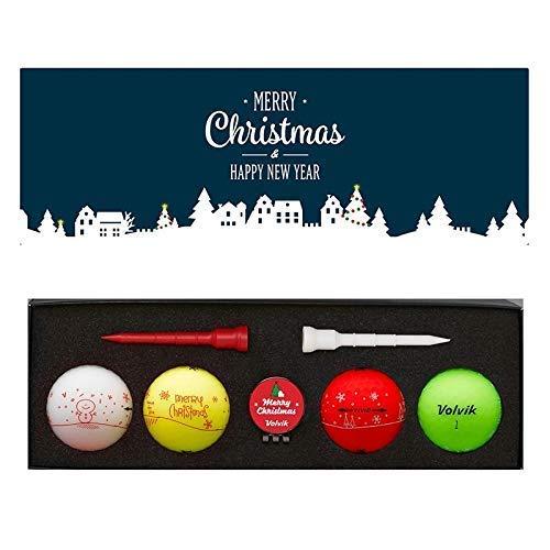 Volvik Unisexe Paquet, Noël Golf Balles, Muli Couleur, Taille Unique