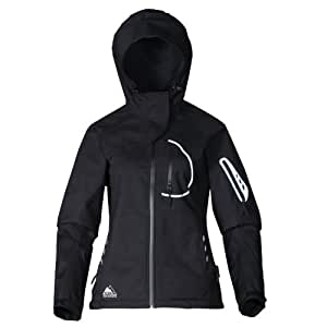 COX SWAIN 3-layer women outdoor soft shell jacket YUKI, 15.000mm water proof, 10.000mm breathable, Colour: Black, Size: M