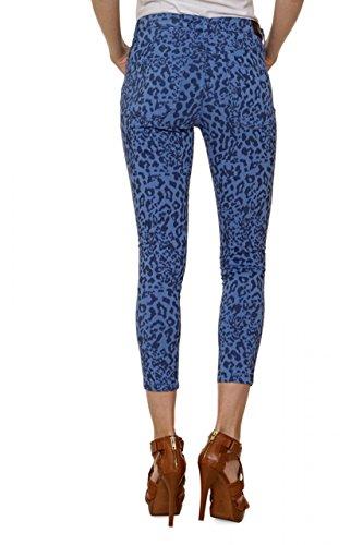 Fiveunits 5Units Damen Jeans Skinny Slim Leg Jeans SELMA Blau