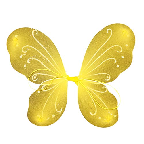 Kinder Wings Kostüm Butterfly - Petalum Mädchen Fee Kostüm Kinder Prinzessin Feenflügel Schmetterlingsflügel Fairy Butterfly Wings