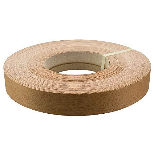 da applicare con ferro da stiro su legno Nastro pre-incollato per impiallacciatura prodotto negli Stati Uniti facile applicazione ciliegia//acero a caldo per bordi