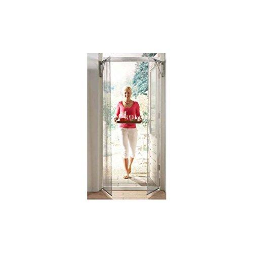 Hossi's wholsale porta con zanzariera ad apertura automatica con sensori di movimento