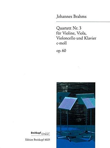 Klavierquartett Nr. 3 c-moll op. 60 (EB 6025)