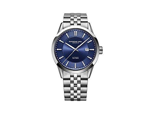 Raymond Weil orologio automatico, 42mm, blu, acciaio, 2731-st-50001