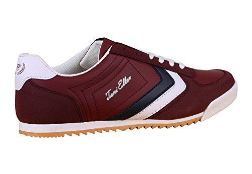 Toni Ellen® Tiger Adulto Uomo Donna Scarpe Unisex Sneaker Scarpe Sportive - Gr 40-44 Rosso