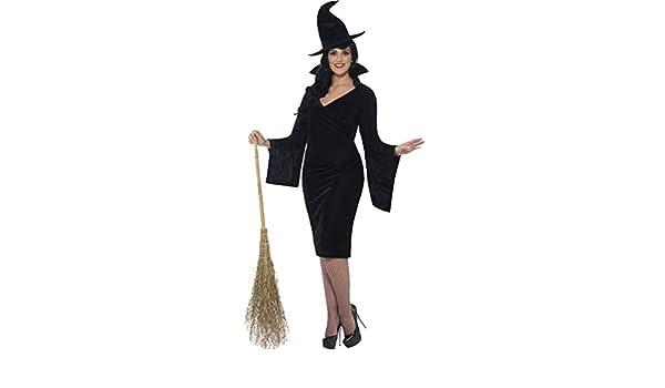 Onorevoli adulti costume di Halloween party da curve sexy strega completo  abito  Amazon.it  Abbigliamento 4f55ea4b6bd0