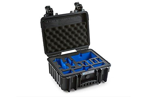 B&W outdoor.cases Typ 3000 mit DJI Mavic Air Fly More Combo Inlay - Das Original (Air Öse)