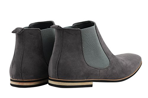 Xposed , Boots montantes Chelsea homme Gris