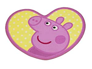 Character World Peppa Pig Adorable Shaped Rug