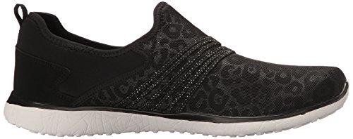Skechers Sport Frauen Microburst Underwraps Fashion Sneaker, schwarz / wei