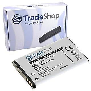 Trade-Shop Premium Li-Ion Akku 3,7V / 1100mAh / 4Wh für Altina Bluetooth GPS Receiver, Anycool Enjoy W02, Audioline Amplicom PowerTel M4000/ M5000, M5010, M5100, M6000, Avus C12, C22, Banno GT03B