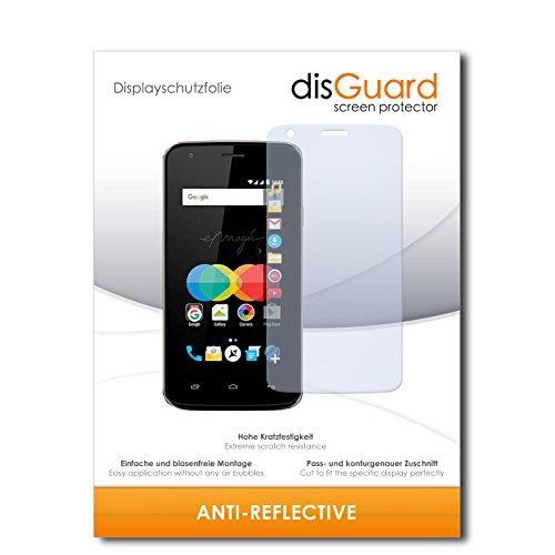 disGuard® Bildschirmschutzfolie [Anti-Reflex] kompatibel mit Allview P4 eMagic [2 Stück] Entspiegelnd, Matt, Antireflektierend, Extrem Kratzfest, Anti-Fingerabdruck - Panzerglas Folie, Schutzfolie