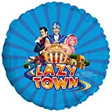 1 BALLOON foil LAZYTOWN GROUP party FAVORS decoration GIFT by CTI
