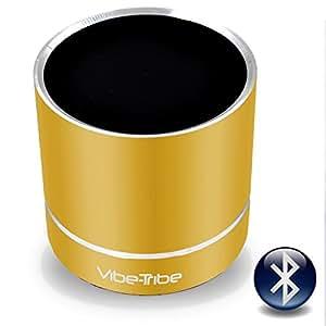 Vibe Tribe 8051566332786altoparlante a vibrazione Bluetooth per iOS/Android/Windows Smartphone/Tablet/lettore mp3/pc/dispositivo di Jack 3,5mm Lemon Yellow