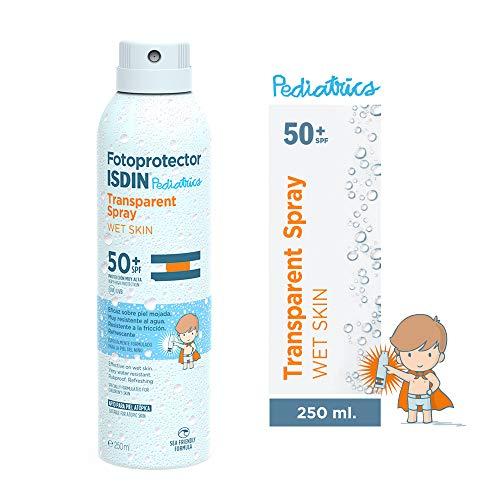 ISDIN Fotoprotector Trasparent Spray WET SKIN Pediatrics SPF...