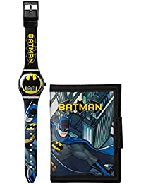 DC Comics Ensemble montre et portefeuille Batman