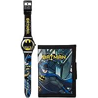DC Comics Batman - Juego de Reloj y Cartera