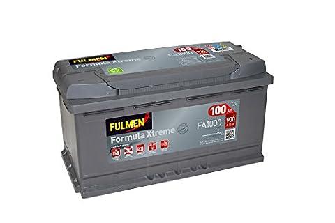 Fulmen - Batterie voiture FA1000 12V 100Ah 900A - Batterie(s)