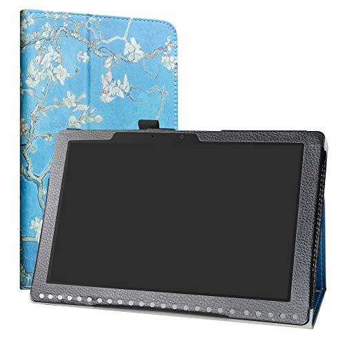 LiuShan Iconia One 10 B3-A50 hülle, Folding PU Leder Tasche Hülle Case mit Ständer für 10.1