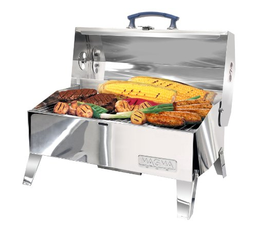 Marine-grill (Magma A10–703 C Cabo Adventurer Marine Serie Holzkohle-Grill)