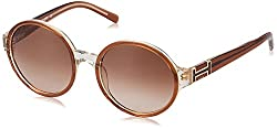 Tommy Hilfiger Gradient Round Womens Sunglasses - (7832 Brnbr-34 C2 54 S|54|Brown Color)