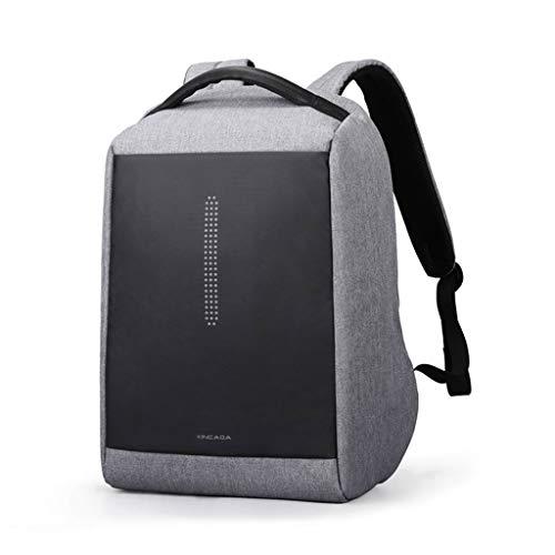 MXD Herren Business Multifunktionsrucksack Großraumrucksack für Männer Jugendmode-Rucksack für Herren (Color : Gray)