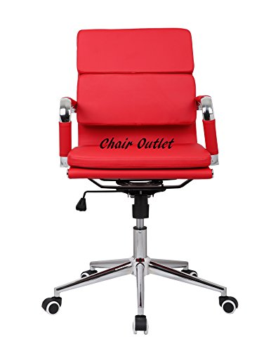 Deals For Elegant RED designer Office Reception Chair Review