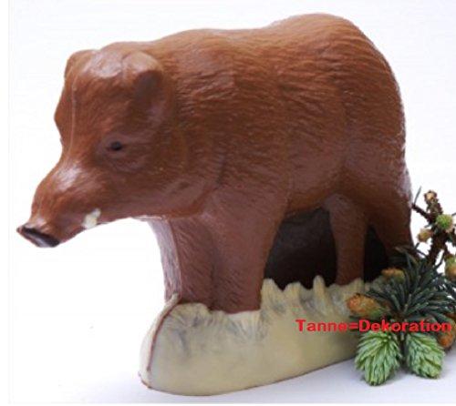 03#032620 Schokoladen Wildschwein (vollmilch) Geschenk, Jäger, Waidmannsheil, Jagd, Geburtstag, Hochzeit,