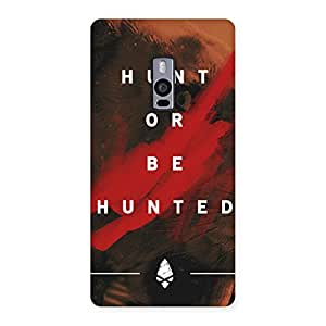 Delighted Hunted Multicolor Back Case Cover for OnePlus Two