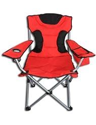 # 3 Farben XL Campingstuhl mit Kühltasche 120kg Klappstuhl Faltstuhl