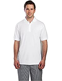 Blanco Polo Shirt Tamaño: S (34-38