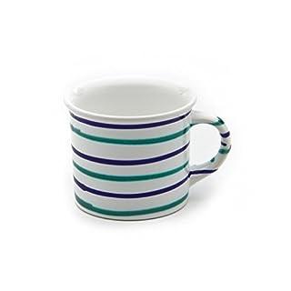 GMUNDNER KERAMIK Kaffeehäferl glatt | Füllmenge : 0.24 Liter | Traunsee | Geschirr, handgemacht in Österreich