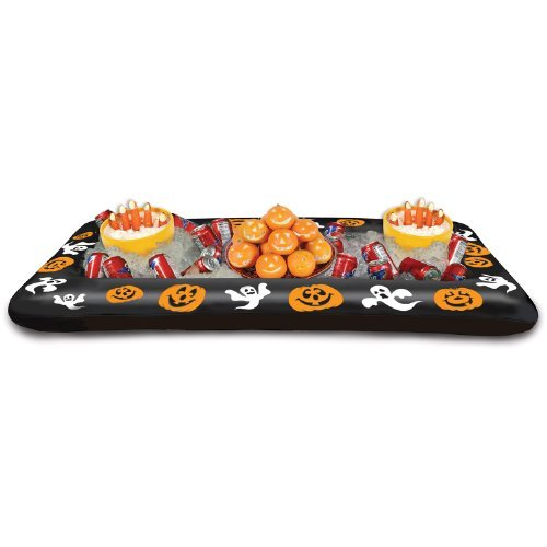 able Halloween Buffet Cooler, 28-Inch by 4-Feet 53/4-Inch by Beistle ()