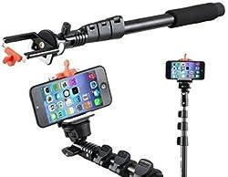 ENRG Selfie Stick YUNTENG YT 188 Self-portrait Monopod with Bluetooth Remote with Stick Clip