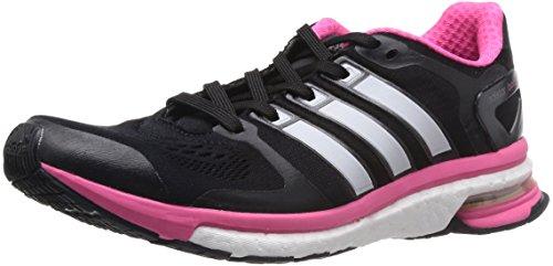 adidas Adistar Boost ESM W Damen Laufschuh, Schwarz, 36.5 EU