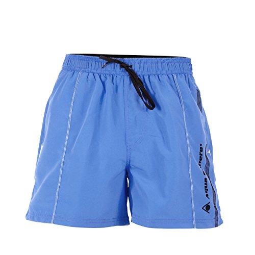 Aqua Sphere Herren Badeshorts Mississippi blau / schwarz