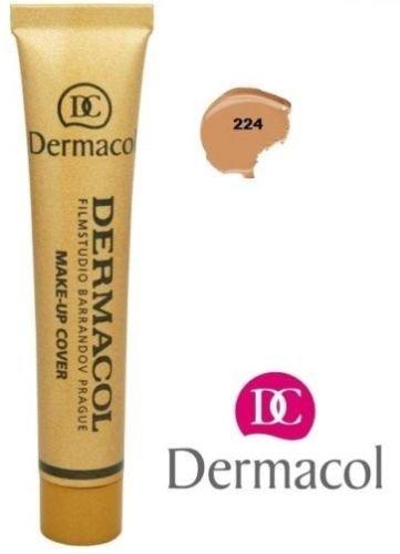 Dermacol Camouflage Make-up (Makeup Grundierung, zum Abdecken von Tattoos und Narben), 224