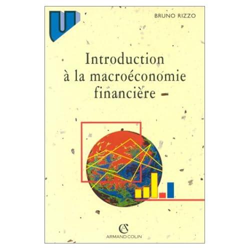Introduction à la macroéconomie financière