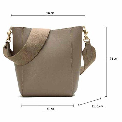 Borsello In Pelle Shopping Bag Borse Moda, Rosso Verde