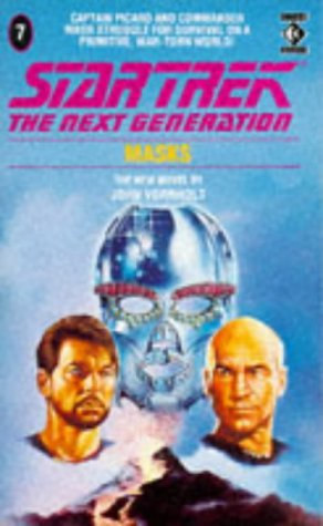 Cover of Masks (Star Trek: The Next Generation 7)