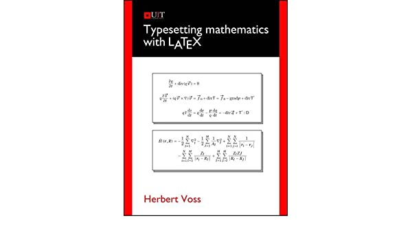 Buy Typesetting Mathematics with LaTeX Book Online at Low