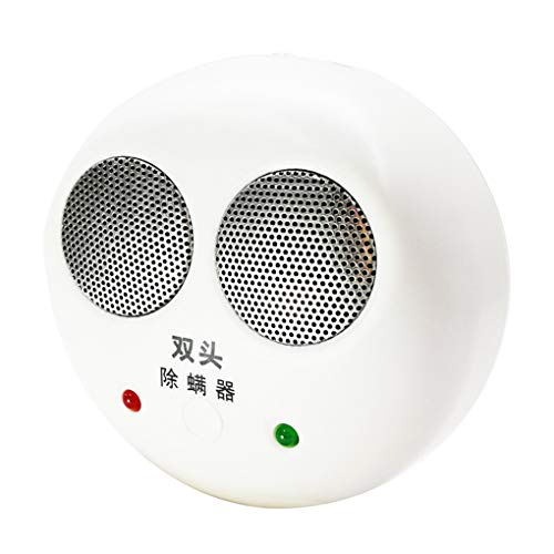 SJASD Ultraschall Milbencontroller gegen Milben und Anti Milben Mittel ohne Chemie Entfernung Gerät Leiser Betrieb an und Beweglicher Stecker