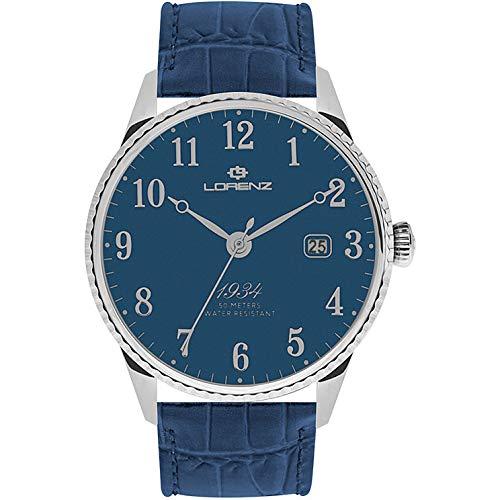 orologio solo tempo uomo Lorenz 1934 trendy cod. 030102CC
