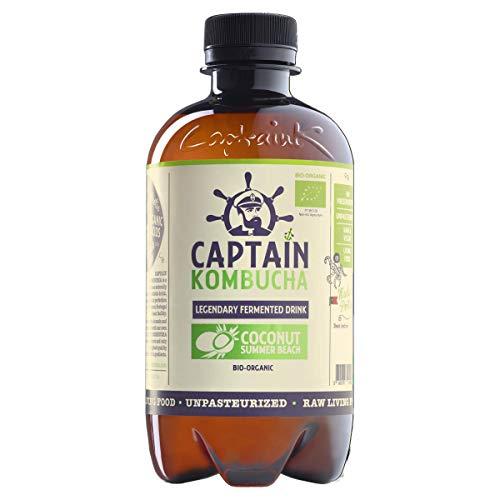 Captain Kombucha, Coconut Summer Beach (Pack of 8)