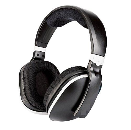 Unbekannt Headset Einzelner 2.4G Drahtloser Fernsehkopfhörer-Kopfhörer-Ohr-Stereobaß Xuan