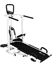 Powermax Fitness MFT410 4 in 1 Multifunction Manual Treadmi