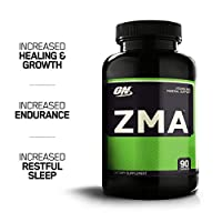 OPTIMUM NUTRITION ZMA Muscle Recovery and Endurance Supplement for Men and Women, Zinc and Magnesium Supplement, 90 Capsules
