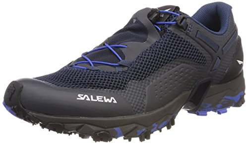Salewa Herren MS Ultra Train 2 Trekking-& Wanderhalbschuhe, Blau (Dark Denim/Royal Blue 3424), 48.5 EU (Schuhe Dark Denim)